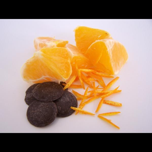Ingredientes mermelada de naranja amarga con chocolate
