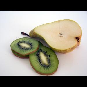 Ingredientes mermelada de pera y kiwi
