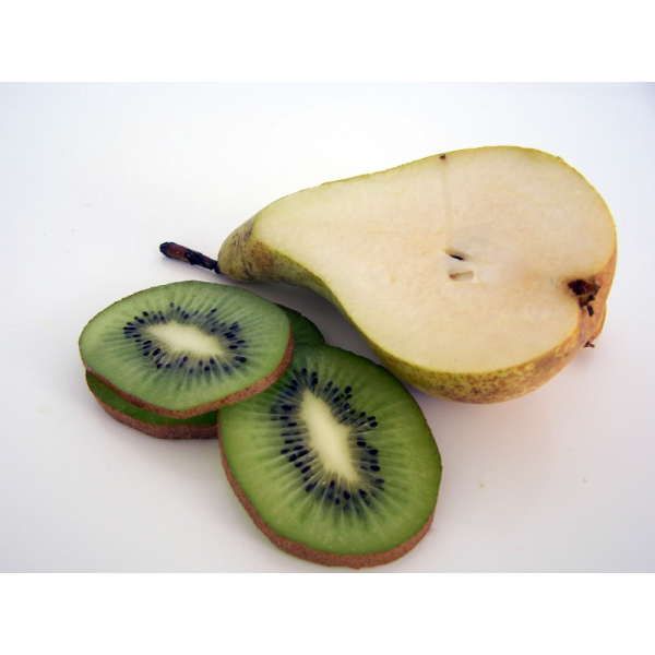 Ingredientes mermelada de pera y kiwi
