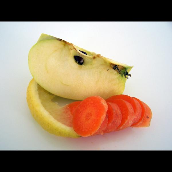 Ingredientes mermelada de zanahoria y manzana al aroma de limón